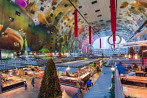 GO Rotterdam Shopping Architectuur centrum eten food Markthal MVRDV shoppen sneeuw vrije tijd winkel winkelen winter wonen GO Dutchtravel